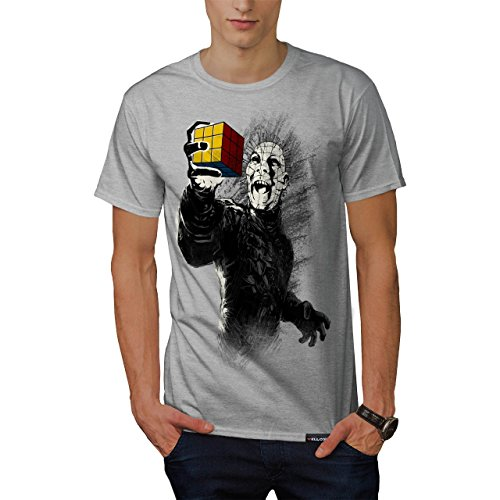 Pinhead Rubiks Cube Hellraiser Men's T-shirt - S to 5XL