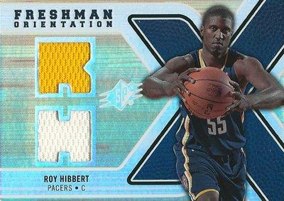 ロイ ヒバート NBAカード 2008/09 SPx Freshman Orientation / Roy Hibbert -