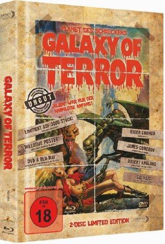 Galaxy of Terror - Planet des Schreckens (Uncut)(+ DVD)(Mediabook) [Blu-ray] [Limited Edition]