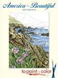 img - for America the Beautiful to Paint or Color (Dover Art Coloring Book) book / textbook / text book