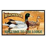 Rockin W Winchester Welcome to The Lodge Door Mat