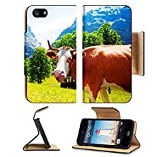 buy Apple Iphone 5 Iphone 5S Flip Case Cute Cow Sticking Out Tongue And Licking Her Nose Image 20978366 By Msd Customized Premium Deluxe Pu Leather Generation Accessories Hd Wifi Luxury Protector