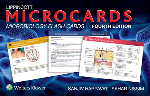 Lippincott Microcards: Microbiology Flash Cards (Micro Flash Cards compare prices)