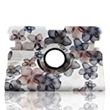 Generic Modern Peach Blossom Slim PU leather 360 Degree Rotating Auto Sleep/Wake Function 8.9 inch 2012 kindle fire HD Smart Carrying Case with Multi-angle Vertical and Horizontal Stand(with a Stylus as a Gift)--Khaki