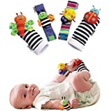 Lamaze Baby Wrist Rattle & Foot Finder Toy (Non-Retail Packaging)