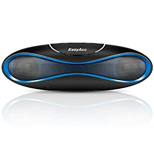 EasyAcc Olive Tragbarer Bluetooth Lautsprecher, Micro SD Karten USB Sticks FM Radio Funktion, Farbe: Blau
