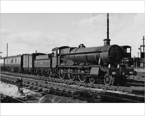 photographic-print-of-grange-class-no-6864-dymock-grange-at-banbury-1958