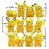 GAMT-Pikachu-Estatuilla-Juguetes-Lindo-Pokemon-Juguetes-12pcs-set