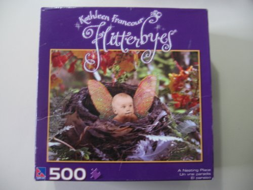 Flitterbyes - Kathleen Francour - A Nesting Place - 500 Pieces