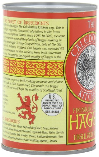 how to cook canned haggis