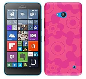 Wow Premium Design Back Cover Case For Microsoft Lumia 640