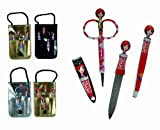 Funky Girls Manicure Set in Storage Bag - Women, Womans, Lady, Ladies, Her Most, Top, Best Popular Present, Gift Ideas For Birthday, Christmas, Xmas