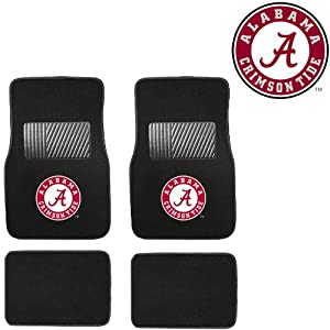 Amazon Com Ua University Of Alabama Crimson Tide Car