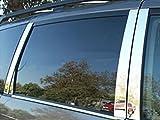 AutoZ Chrome Trim Stainless 8pc Pillar Post Molding Cover 2004-2010 TOYOTA SIENNA