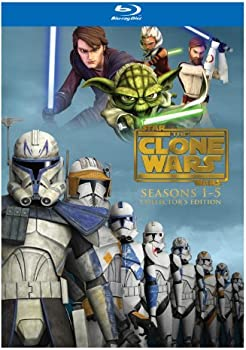 Star Wars: The Clone Wars Seasons 1-5 on Blu-ray