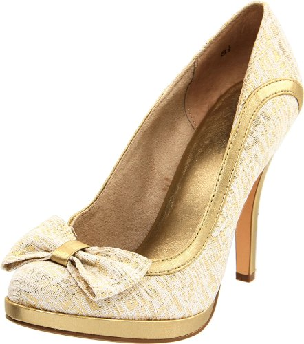 Seychelles Women's Exclamation Point Pump,Gold,8 M US