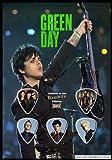 Green Day Bronze Guitar Pick Display