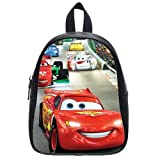 Generic Disney Cars Pull Printed School Bag Backpack PU Leather Large