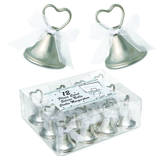 Kissing Bell Place Card Holders