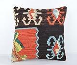 Wool Pillow, KP1040, Kilim Pillow, Decorative Pillows, Designer Pillows, Bohemian Decor, Bohemian Pillow, Accent Pillows, Throw Pillows