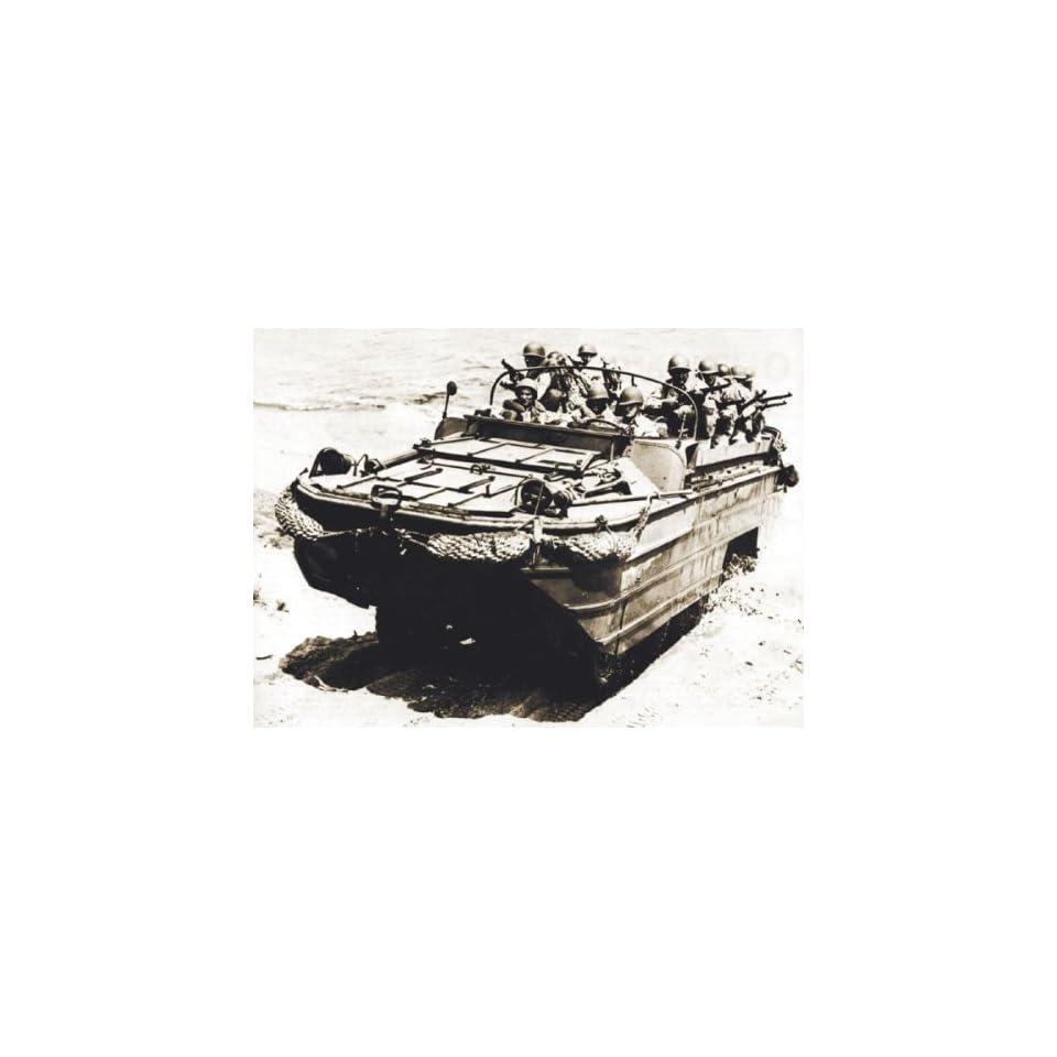 Italeri 1/72 DUKW WWII Amphibious Vehicle Kit
