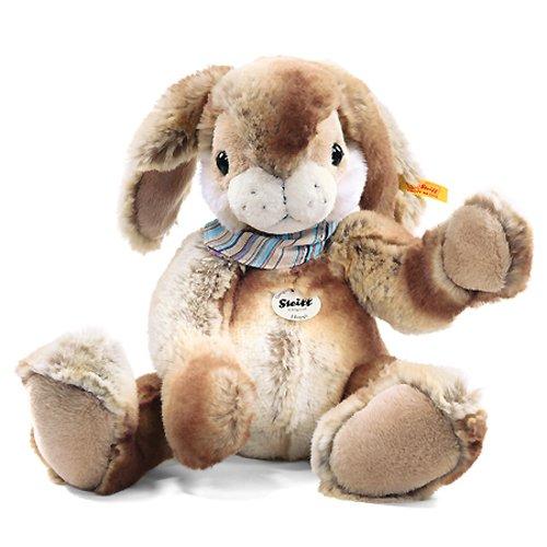 122620 'hoppi' Floppy Rabbit 35 Cm Beige / Brown 122620 By Steiff