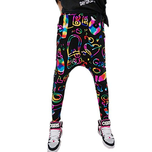 Magiftbox Girl'S Youth Fashion Hippie Harem Pants Dancing Training Party Pants front-322793