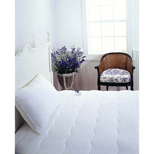 Serta Serta Waterproof Electric Warming Mattress Pad, Brown, Polyester, California King