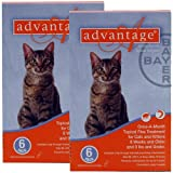 Advantage Flea Treatment for Cats 0-9 lbs.