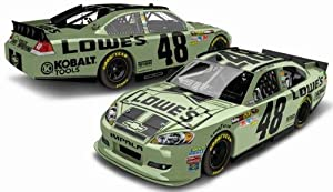 Buy 2012 Jimmie Johnson #48 Lowe's Mountain Green 1:64 ARC Lionel NASCAR Diecast Car by Action Racing Collectables