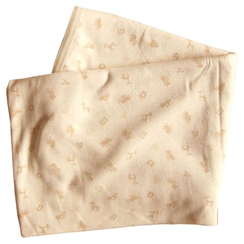 Baby Toddler Blanket, 100% Organic Cotton 100cm x 130cm