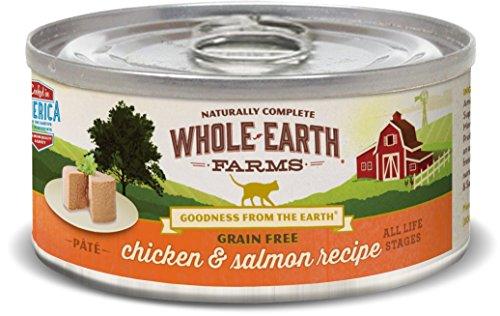 Whole Earth Farms Grain Free Real Chicken & Salmon Recipe (Paté)