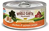 Whole Earth Farms Grain Free Real Chicken & Salmon Recipe (Paté)