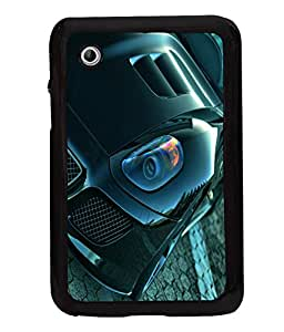 printtech Superfast Car Back Case Cover for Samsung Galaxy Tab 2 7.0 P3100 , Samsung Galaxy Tab 2 (7.0)