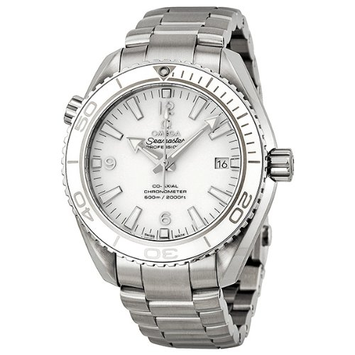 Omega Seamaster Planet Ocean Automatic White Dial Stainless Steel Mens Watch 23230422104001