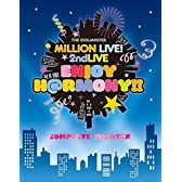 "【Amazon.co.jp限定】 THE IDOLM@STER MILLION LIVE! 2ndLIVE ENJOY H@RMONY!! LIVE Blu-ray""COMPLETE THE@TER""(完全生産限定) (特製フレーム付A4ビジュアルシート付)"