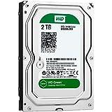 (Old Model) WD Green 2TB Desktop Hard Drive: 3.5-inch, SATA 6 Gb/s, IntelliPower, 64MB Cache WD20EZRX