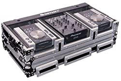 Odyssey FZ10CDIW Flight Zone Dj Coffin With Wheels For A 10 Mixer And Two Medium Format Cd Players by Odyssey Innovative Designs