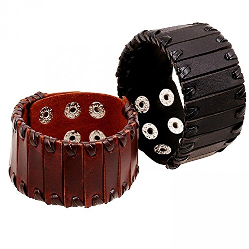 bling-moda-in-pelle-fatto-a-mano-2-colori-vintage-splice-larghezza-bracciale-in-pelle-per-uomo-lb149