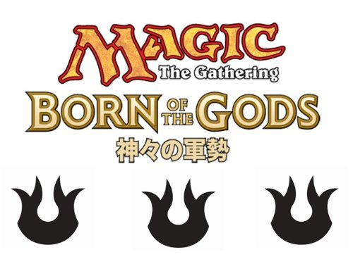 Magic The Gathering: Japanese Born Of The Gods Booster Display (36) front-525374