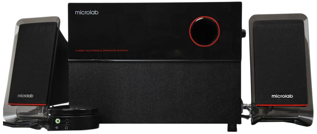 Microlab M200 Acoustic Hi-Fi 2.1 Home Theater