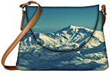 Snoogg Swiss alps beauty Womens Carry Around Sling Bags