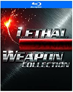 Lethal Weapon Collection (Lethal Weapon / Lethal Weapon 2 / Lethal Weapon 3 / Lethal Weapon 4) / Collection L'Arme fatale (Bilingual)[Blu-ray]