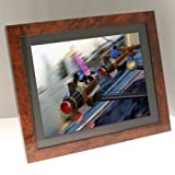 "15"" Dark Veneer Premium Digital Photo Frameby Living Images"