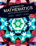 img - for A Survey of Mathematics with Applications (10th Edition) book / textbook / text book