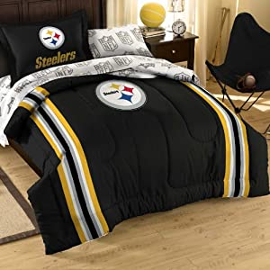 NFL Pittsburgh Steelers Bedding Set, Twin by Northwest