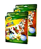 Crayola Color Wonder Metallic Paper & Markers (Pack of 2) Size: Pack of 2