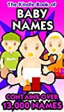 The Kindle Book of Baby Names - Over 13,000 Names