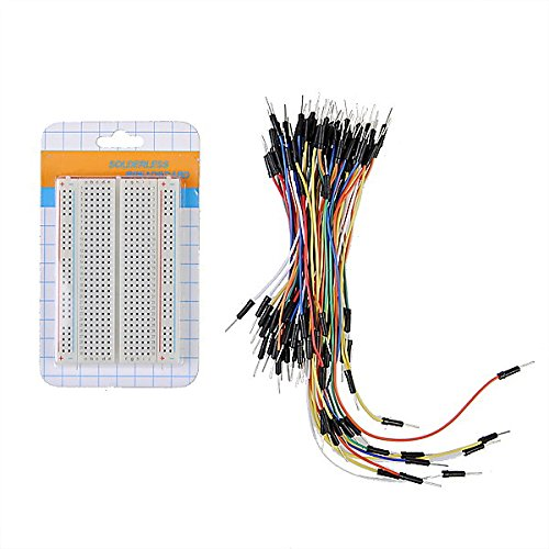 BephaMart Prototype Board 400 Hole Breadboard + 65pcs Breadboard Jump Cable Shipped and Sold by BephaMart