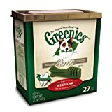 Greenies Senior Tub-Pak Treat for Dogs, 27-Ounce, Regular
